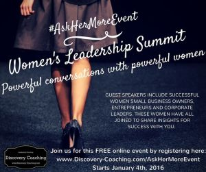 womens leadership summit Jan 4