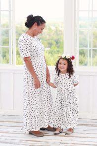 Shenandoah Dress Animal Print White (3)