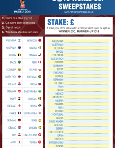 The world cup is coming free downloadable sweepstake kit  wall chart also rh refreshcartridges