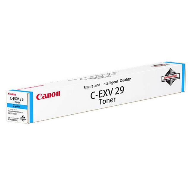 Original Cyan Canon C-EXV29C Toner Cartridge