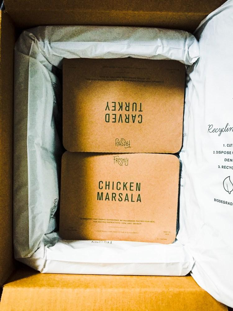 Freshly meal plan package gluten free