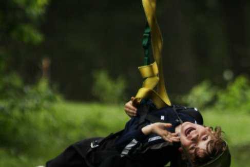 Ziplines_Challenge Adventure_Fall_Kids