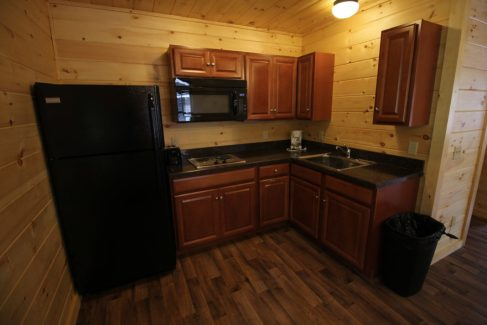 Cabin Kitchen Family