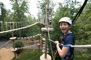 Challenge High Ropes Summer Kids