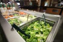 Dining Hall Food Salad Bar Buffet
