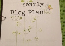 Refreshing Review: the Yearly Blog Planner