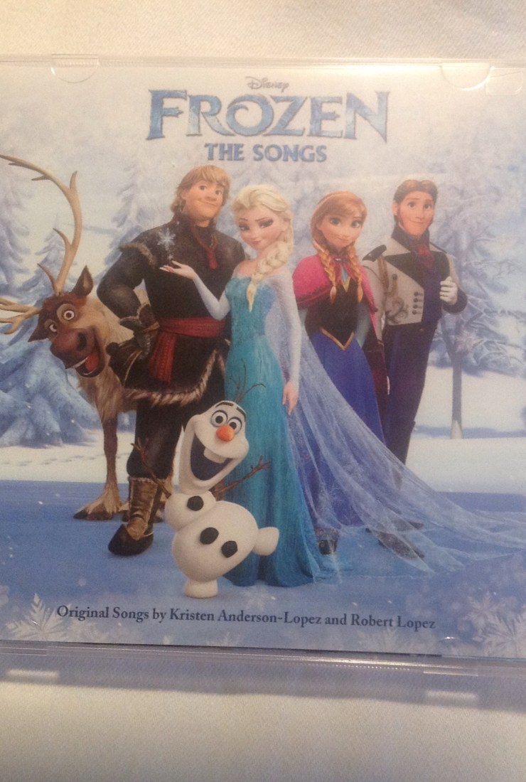 "Special ""Frozen"" music release…and Giveaway!"