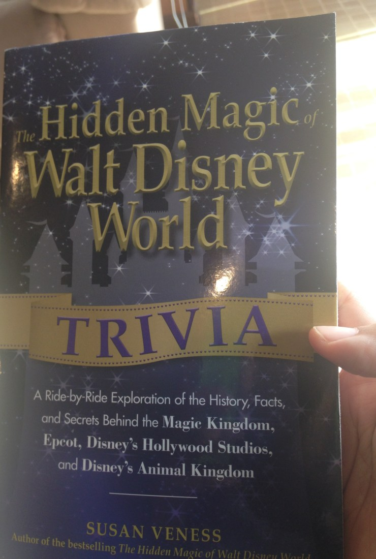 Refreshing Talk book review: The Hidden Magic of Walt Disney World Trivia by Susan Veness