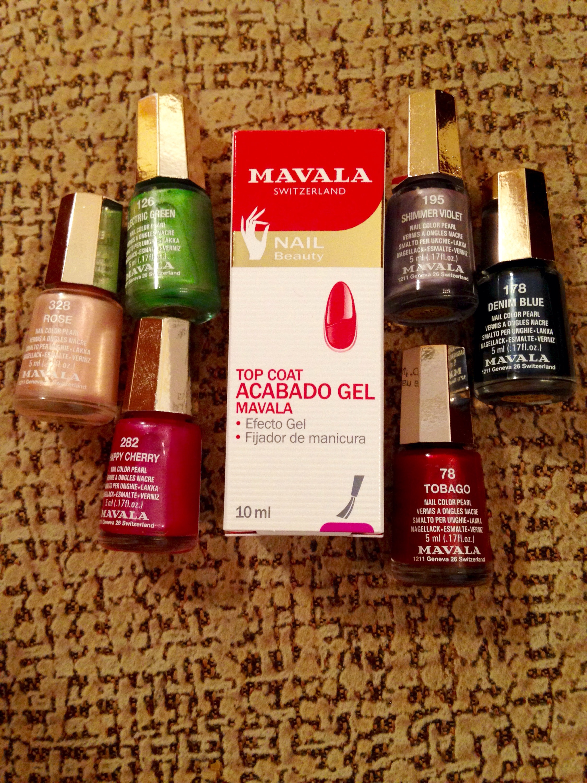 Mavala is my new nail favorite!
