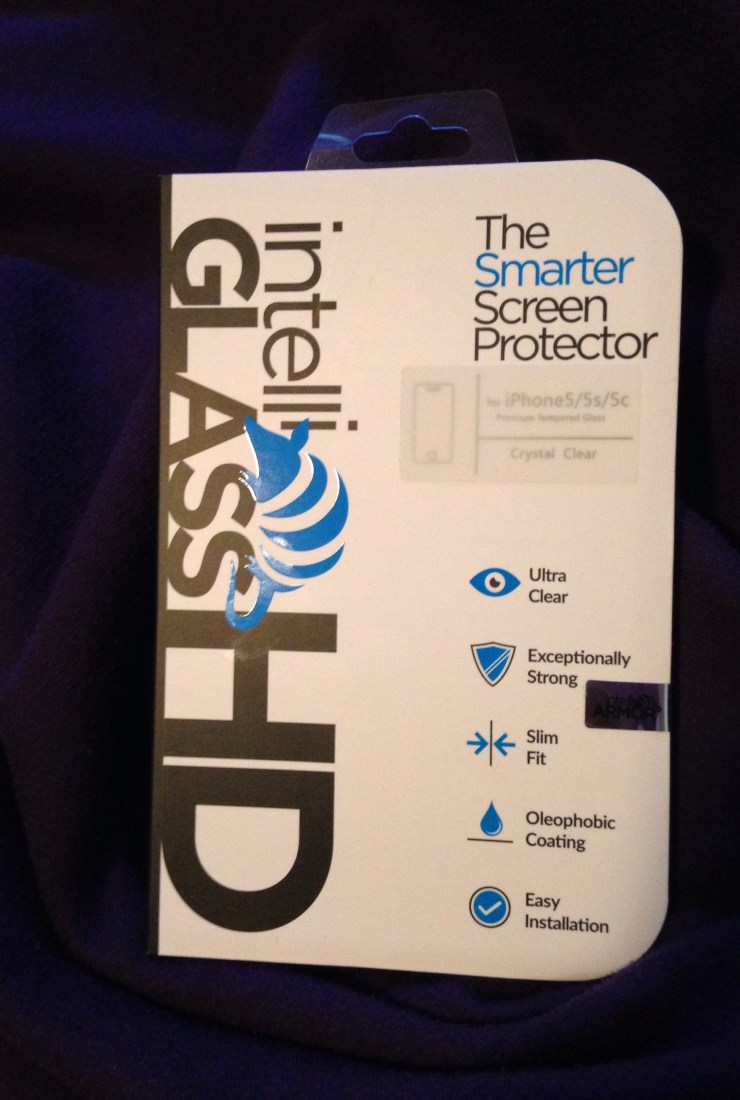 Have you tried IntelliGLASS for your phone?