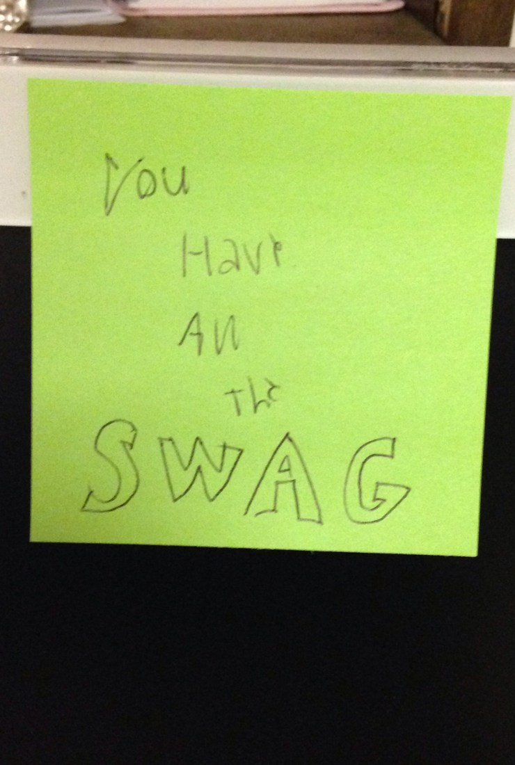 The power of a Post-It