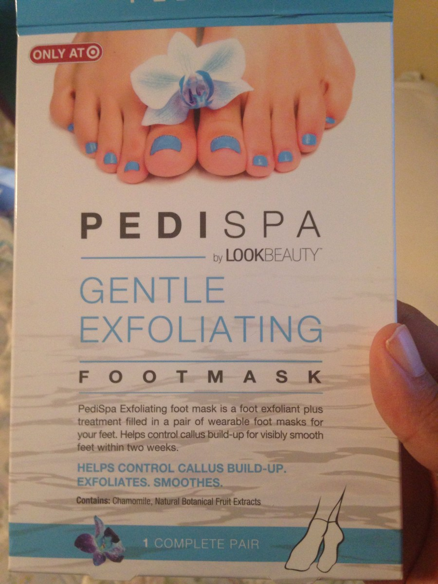 A Refreshing Find: PediSpa Gentle Exfoliating Foot Mask!