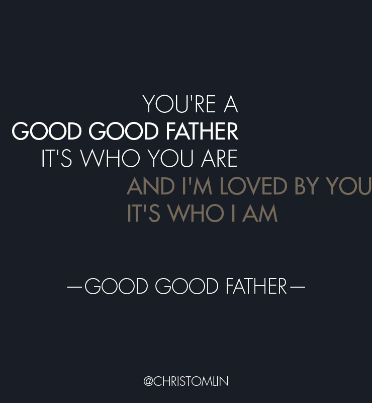 """New video & giveaway from Chris Tomlin! """"Good, Good Father"""""""