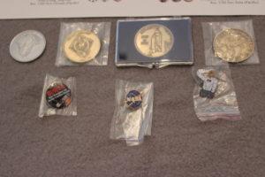 Yes, I love pins & coin memorabilia!