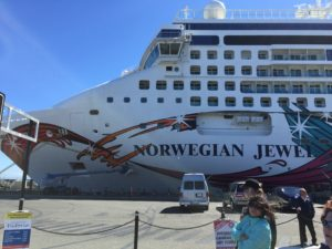 The Norwegian Jewel, our home on the sea for 7 days!