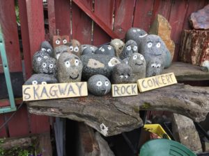 Rock stars in Skagway!