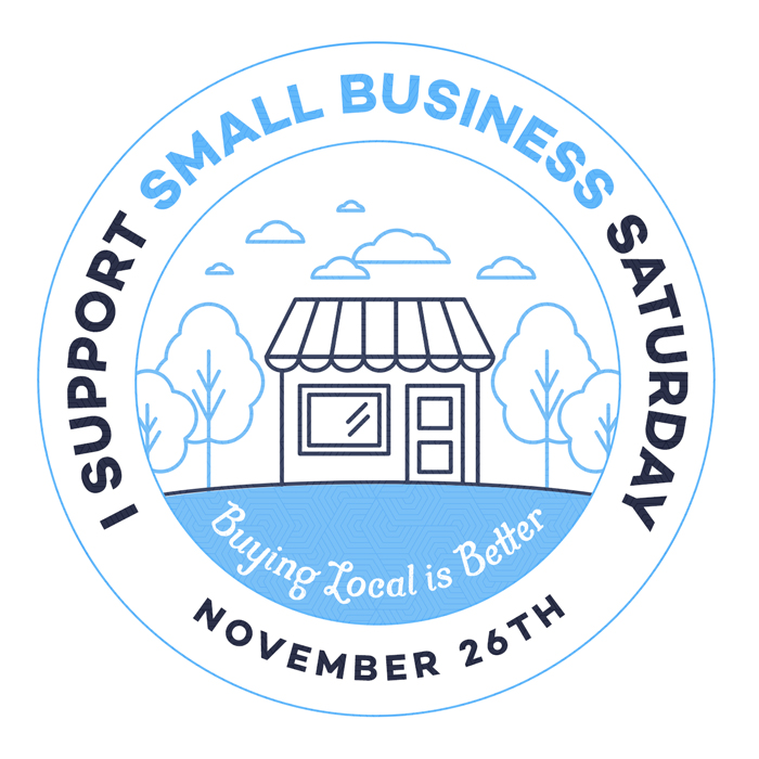 Shop Small, Make a Big Impact! Small Business Saturday, November 26th