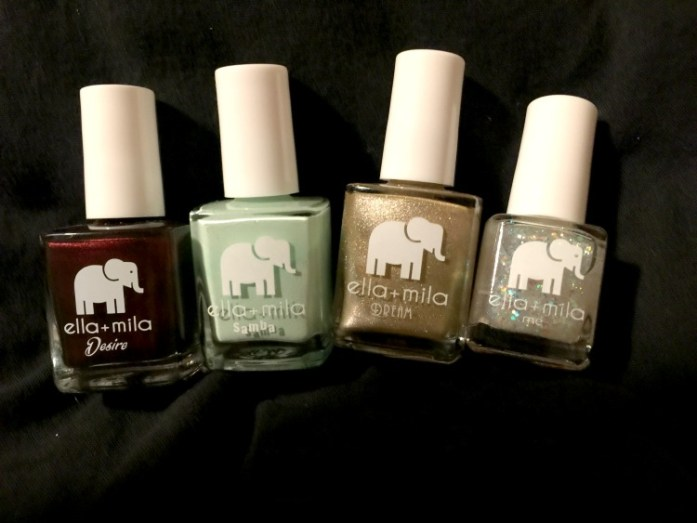 Ella+Mila offers many fashionable colors and textures in their polishes.
