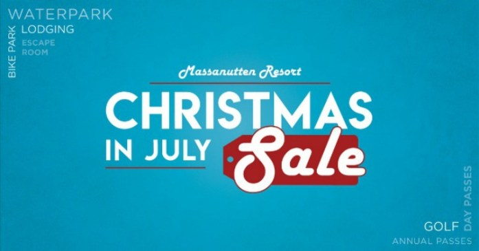 Massanutten Resort's Christmas in July Sale!