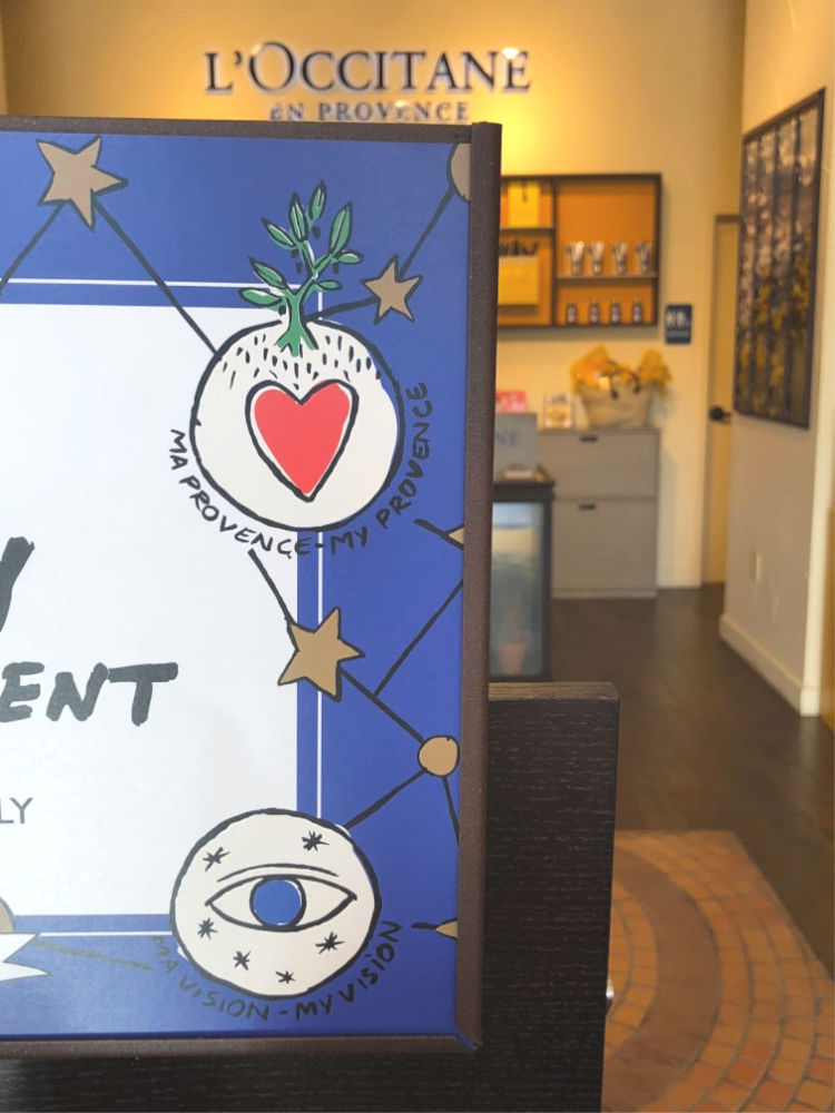 L'Occitane and Castelbajac teamed up for the holiday artwork on this year's packaging to express the values of the company!