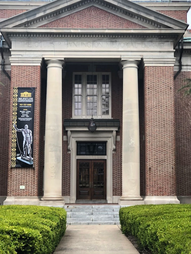 Huntington Hall houses the world-renown art collection at Hampton University. Photo credit: Denedriane Dean