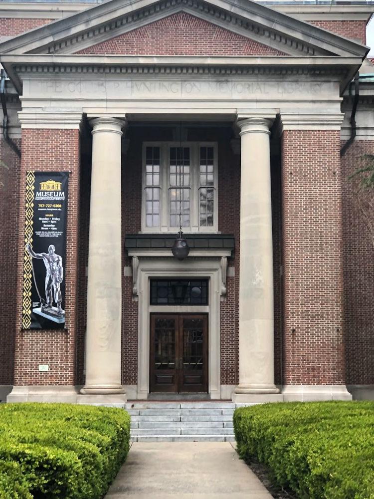 Huntington Hall houses the world-renown art collection at Hampton University. Photo credit: Denedriane Dean