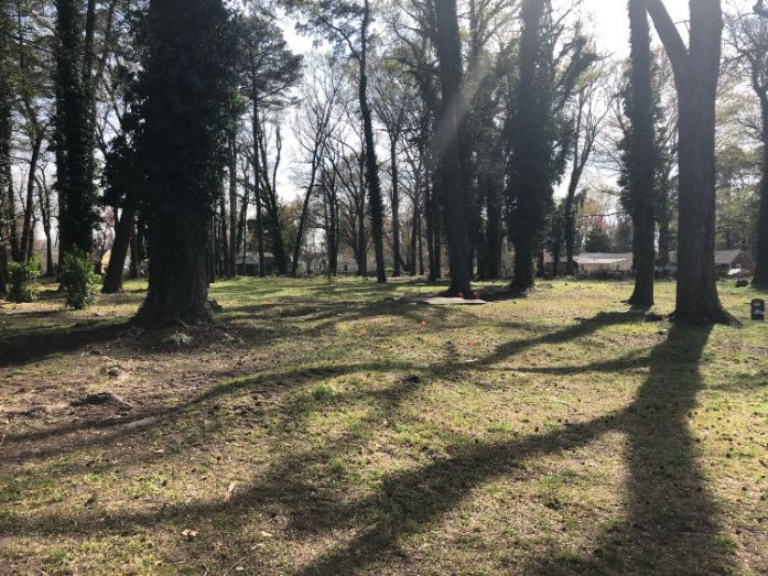 The hallowed grounds of the Tucker Family Cemetery in Hampton, Va. Photo credit: Dee Dean