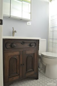 Bathroom Remodel on a Budget with Reclaimed Materials ...