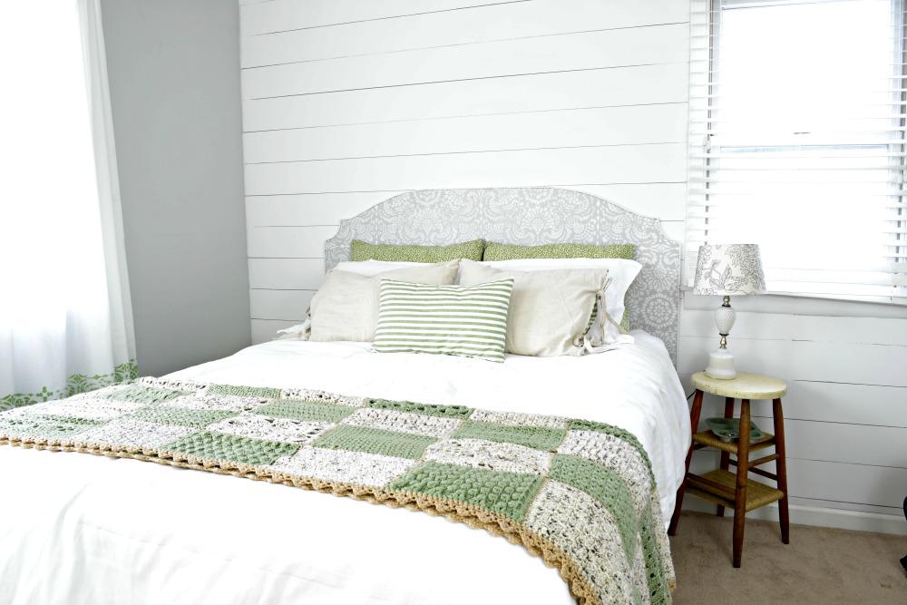 Vintage Farmhouse Master Bedroom Refresh Living