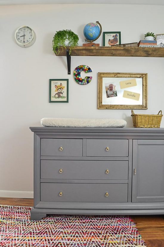 nursery dresser and changing table