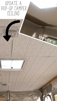 Replace Camper Ceiling Panels