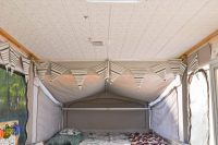 Pop-Up Camper Remodel: Giving the Ceiling a Facelift ...
