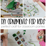 Diy Kids Ornament Perfect Craft For Classroom Christmas Parties Refresh Living