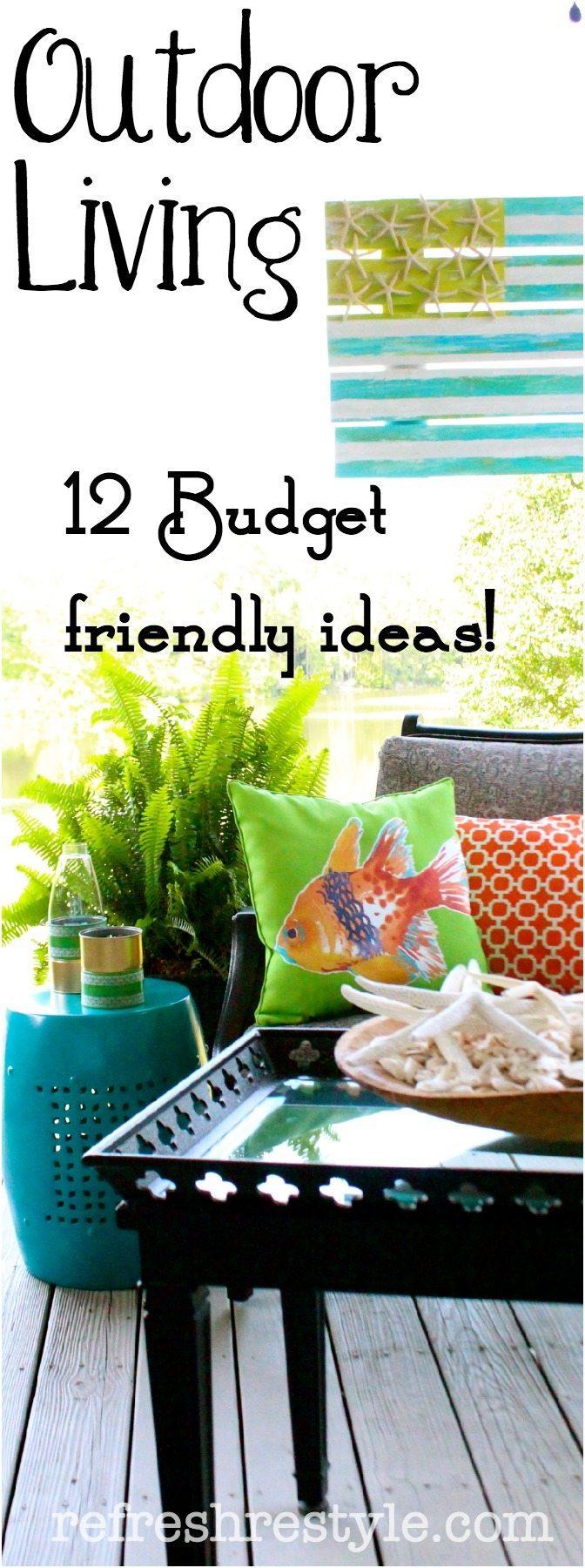 Outdoor Living Ideas Budget