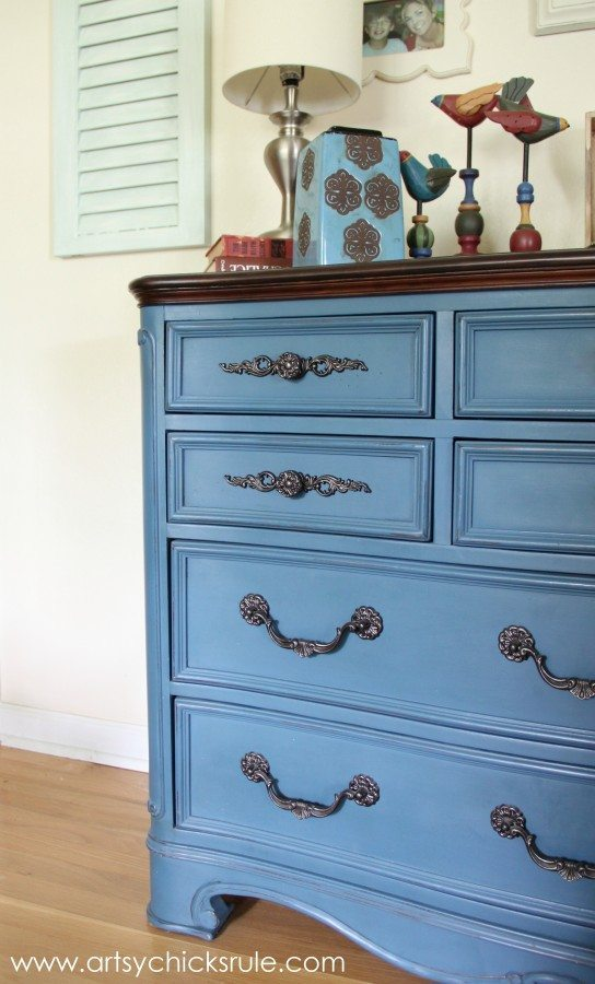 30 Painted Furniture Ideas in Blue  More  Refresh Restyle
