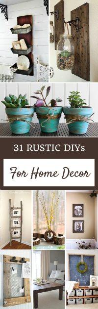 Rustic Home Decor Ideas | Refresh Restyle