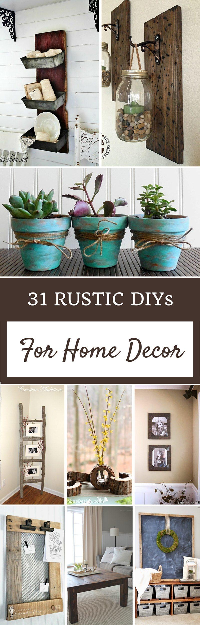 Diy Rustic Decorating