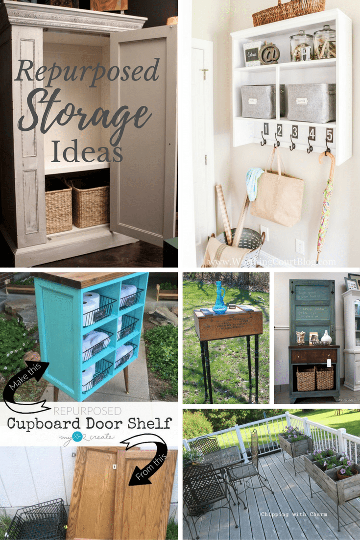 Repurposed Storage Ideas Refresh Restyle