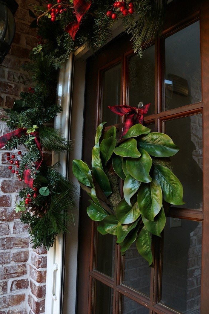 Rustic Christmas Porch Refresh Restyle