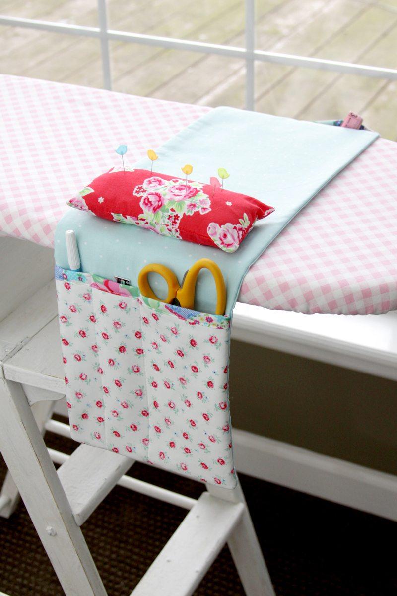 Pretty-Ironing-Board-Organizer Flamingo Toes