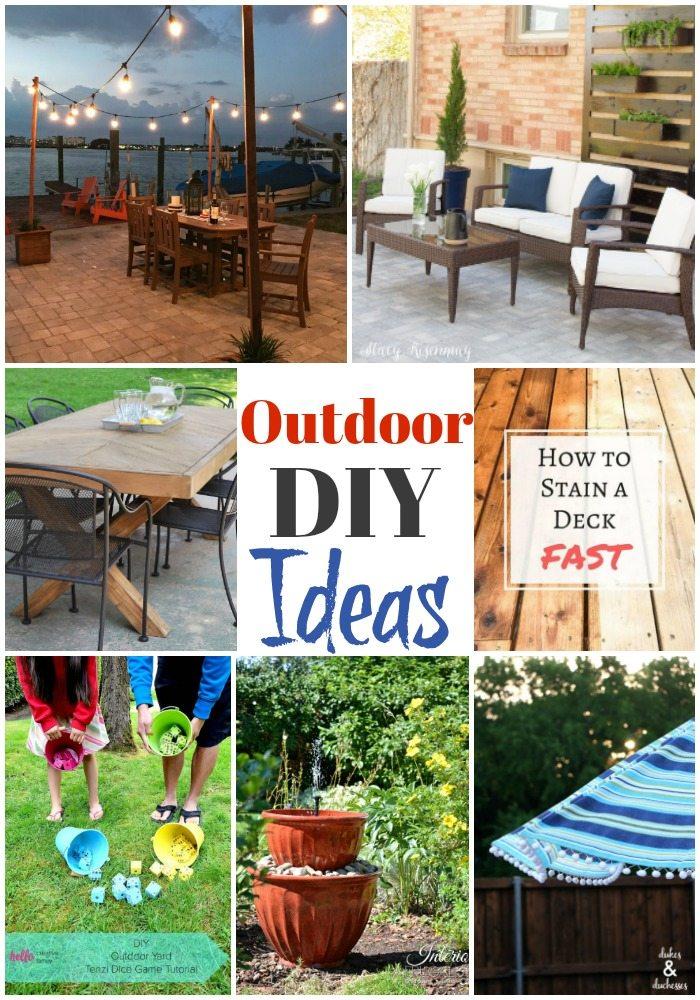 Outdoor DIY Ideas