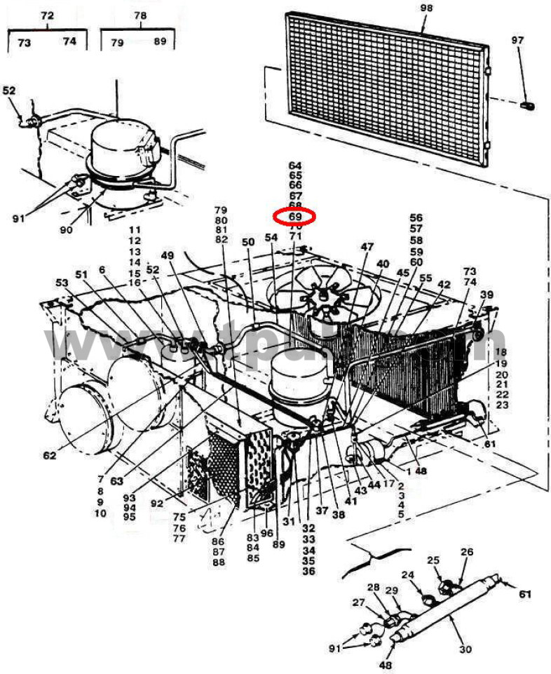 Refrigerator Compressor: Refrigeration Compressor Cross