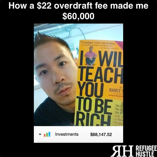 How a $22 overdraft fee made me $60,000