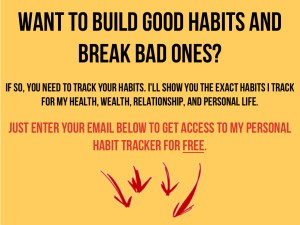 Sign up for my FREE Habit Tracker