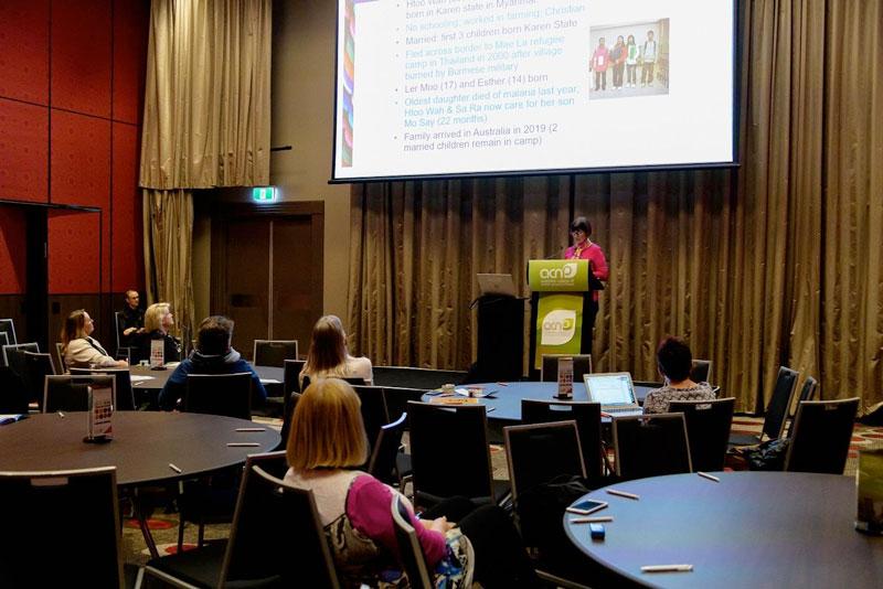 Merilyn Spratling presents at ACNP conference