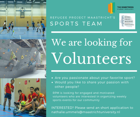 (English) Volunteers for Sports Team