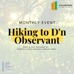 Monthly hikes