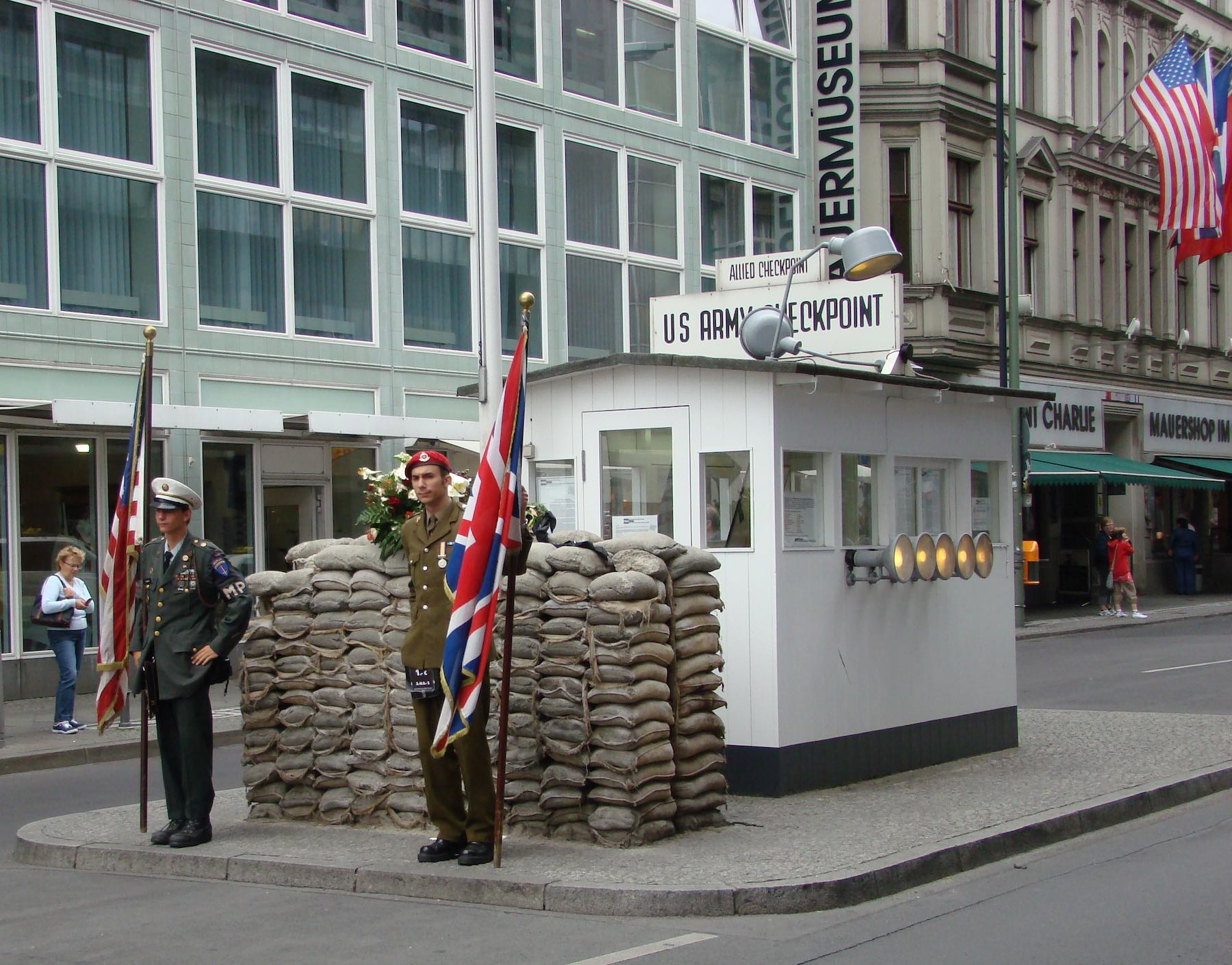 Checkpoint Charlie 2008