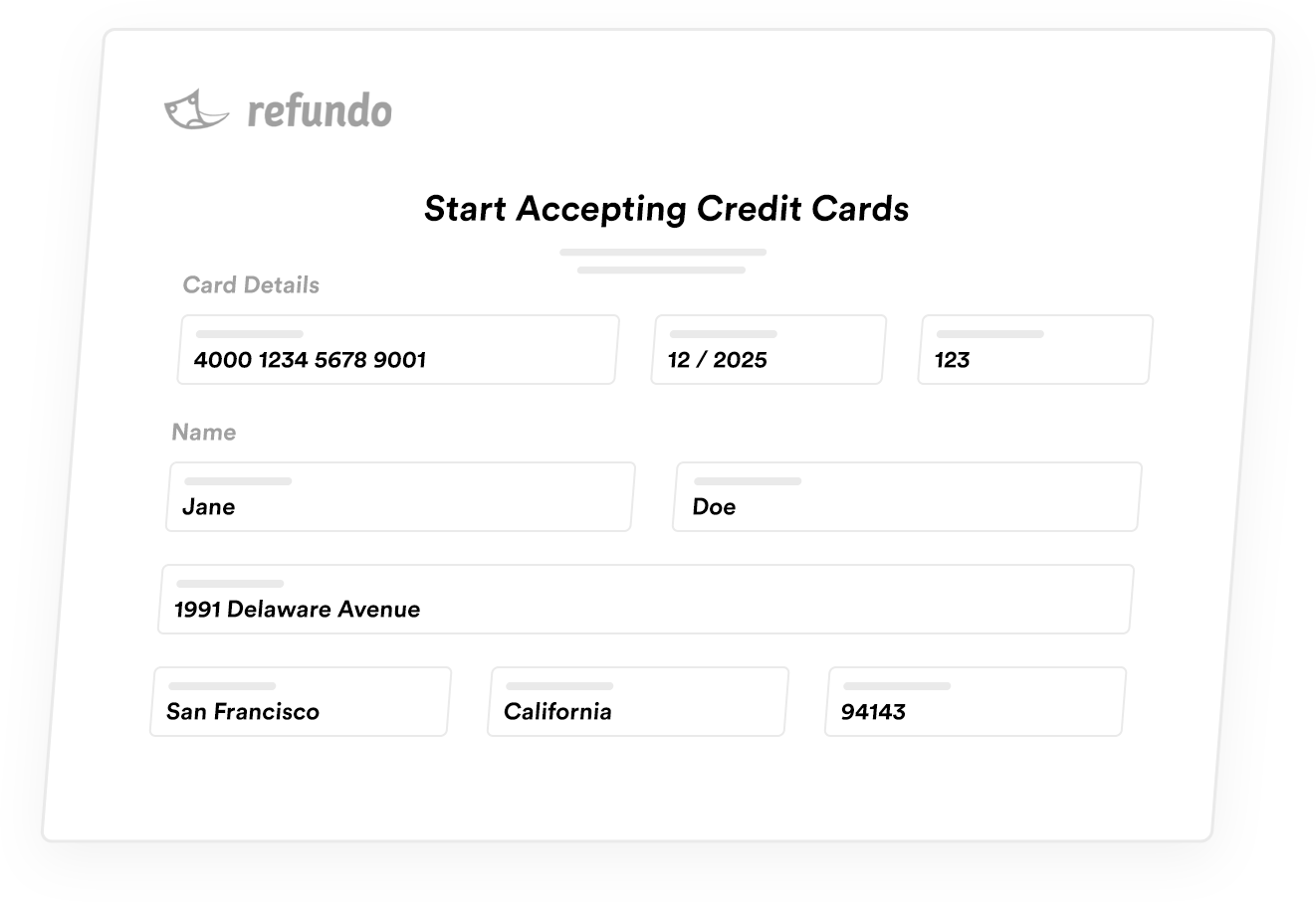 Process Payments In Refundo Dashboard