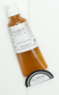 Fusion's brush cleaner